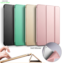 Купить с кэшбэком For  iPad Pro Case 360 Rotation PU Leather case for Apple iPad Air 5 Smart cover ipad5 flip cases with stand function