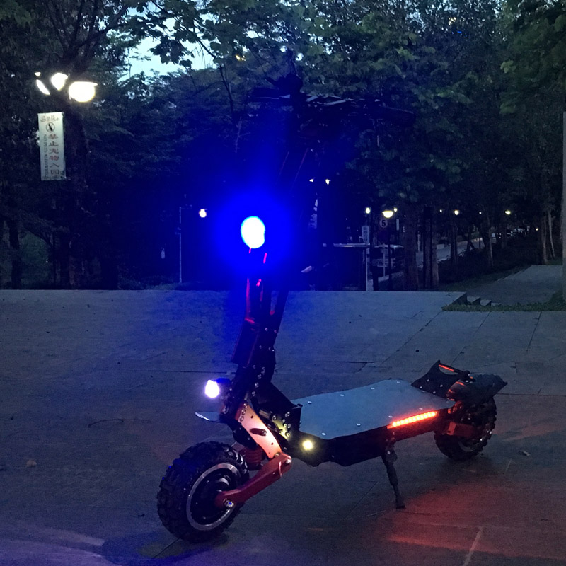 FLJ Newest Design Foldable Electric Scooter for Adults with 3200W motor wheel electric scooter off road fat tire kick Scooter 5