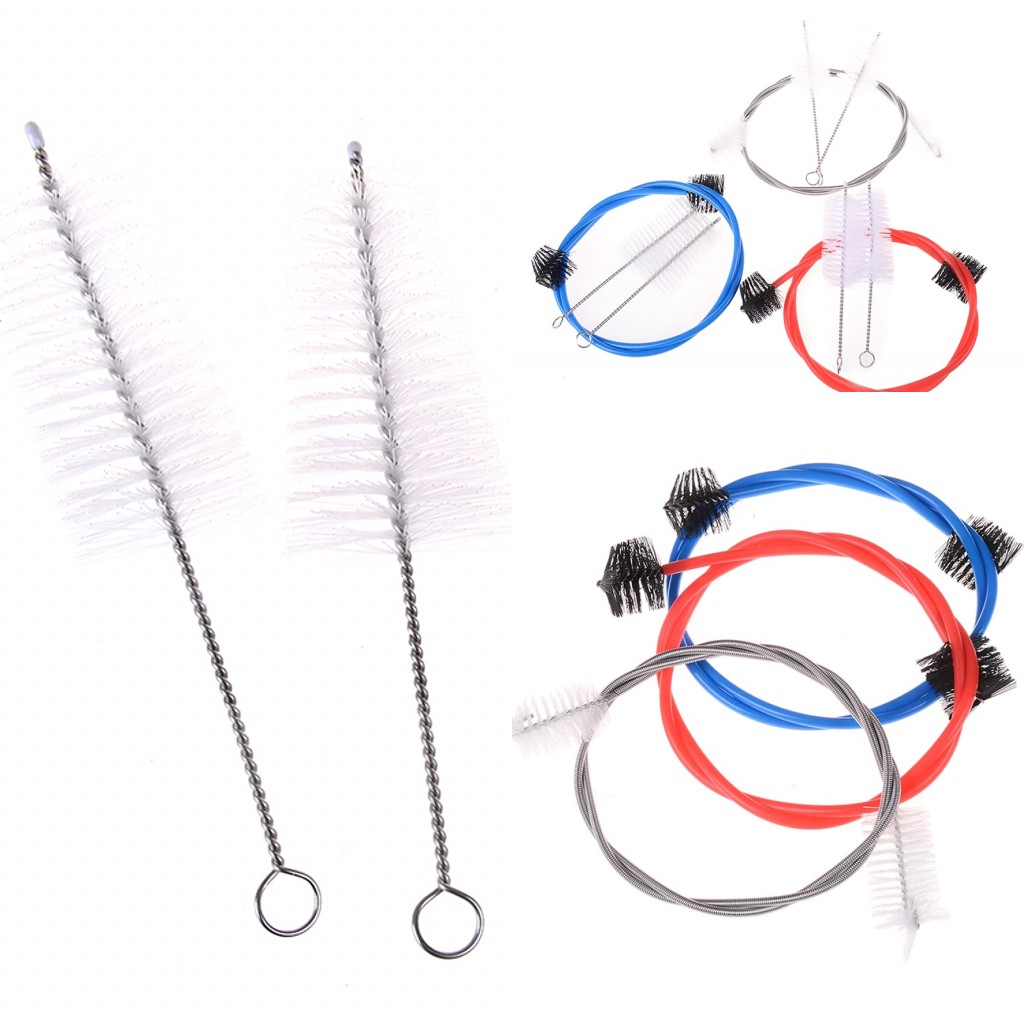 2019 New 4pcs/Lot Trumpet Cleaning Maintenance Kit Trumpet Mouthpiece Brush Wholesale