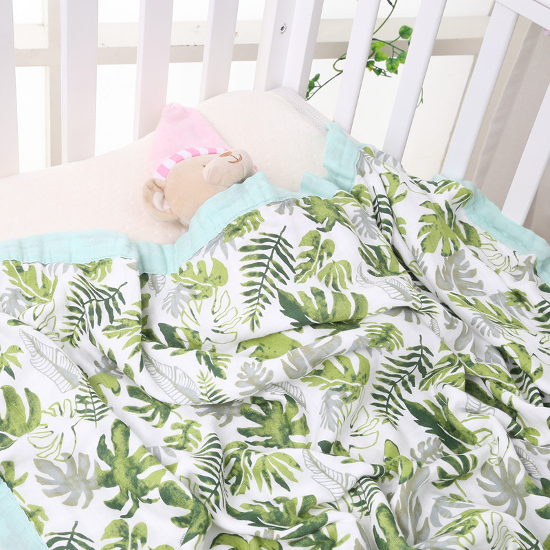 muslin quilt four layer bamboo baby muslin blanket Muslin Tree swaddle better than Aden Anais Baby/bamboo Blanket Infant Wrap professional10x20ft muslin 100