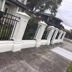 40 см/15,74 дюйма ABS GRC простой Многофункциональный классический стиль бетон Римский Столб Плесень сиденье садовый забор Enclosing стеновой пьедест...