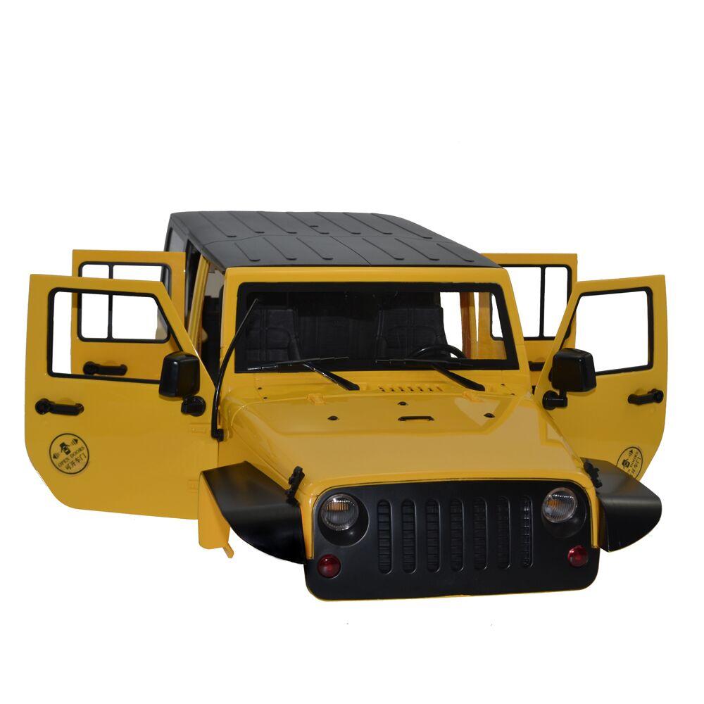 Haute Qualité 1:10 RC Crawler Voiture En Plastique Dur 313mm Empattement Corps Shell pour Axial SCX10 RC4WD D90 jeep de voiture