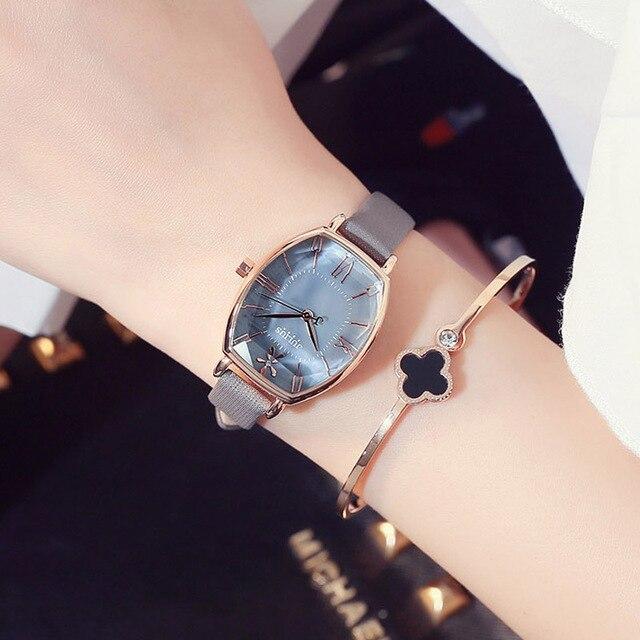 875f4c20144 Mulheres da moda Relógios Diamante Display Analógico de Aço Inoxidável  Elegante Relógio de Quartzo Vida À