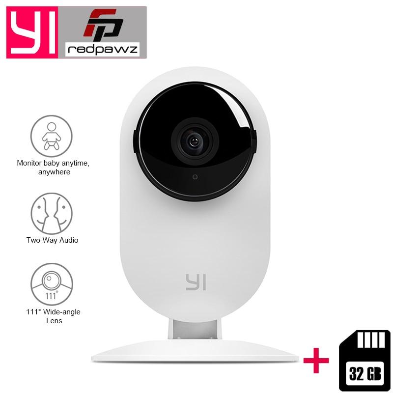 [Édition internationale] Xiaoyi YI Maison Caméra HD 720 p Xiaoyi IP Caméra 110 Grand Angle Deux- façon Audio Activité Alerte Intelligent Webcam