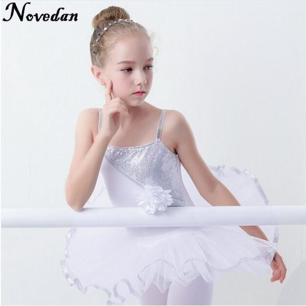Professional Girls Ballet Dress For Child Dance Costume Kids Ballet Tutu Dresses Gymnastics Leotard Dance Tutu Dress Dancewear