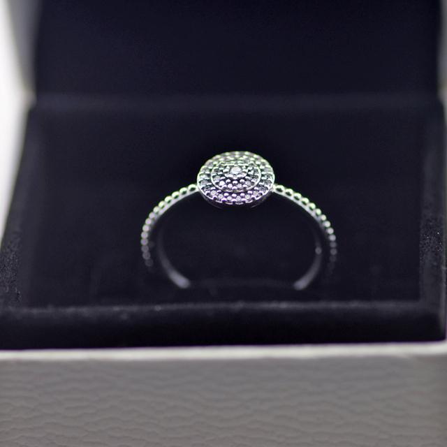 Radiante Elegância Anéis Com Limpar Cubic Zirconia 100% Prata Esterlina 925 Jóias Finas Frete Grátis