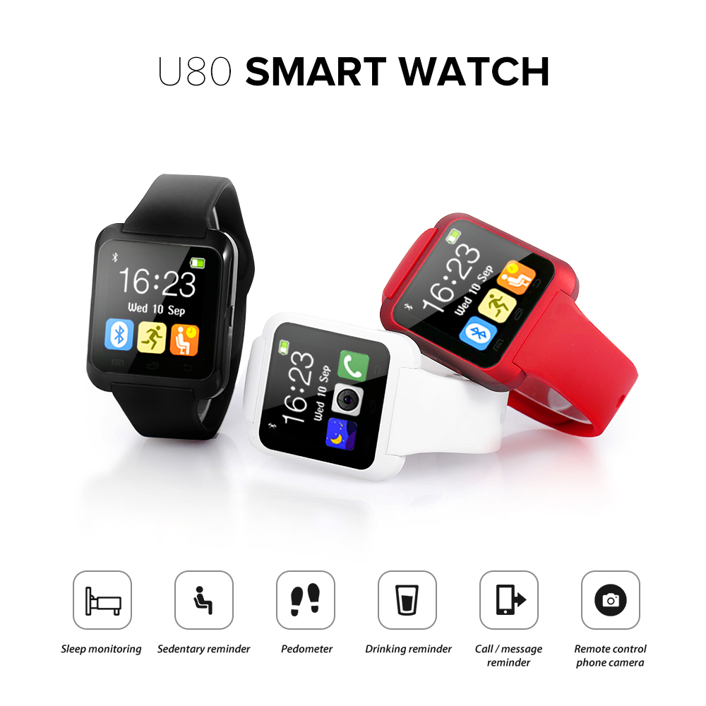 U80: a Smartwatch for Less Than 10 €