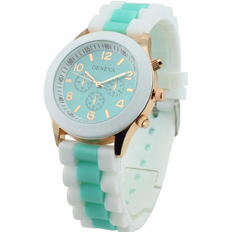 Часы женщины новинка мода розовый девушки часы силикон спорт милый ребенок дети женщины часы дешево платье часы горячая Reloj