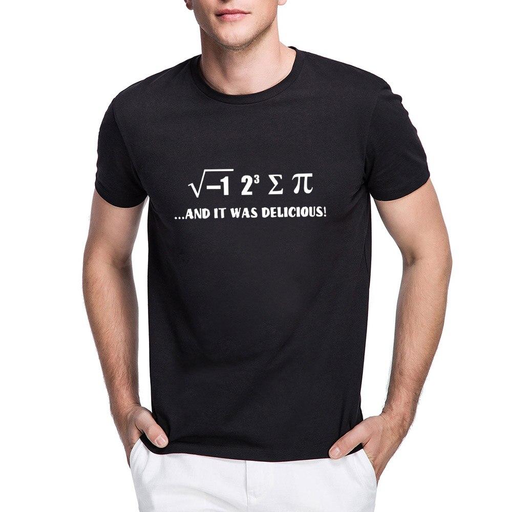Mens I 8 Sum Pi T-shirts Men Funny Maths Physics Joke Tee