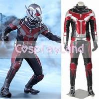 Ant Man Cosplay Costume Adult Captain America Civil War Superhero Ant man Costume Carnival Halloween Costumes for Men Custom