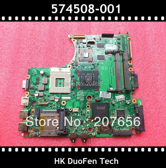 574508-001 placa base para HP ProBook 4510 S 4710 S 4411 s, 100% de trabajo con servicio de garantía