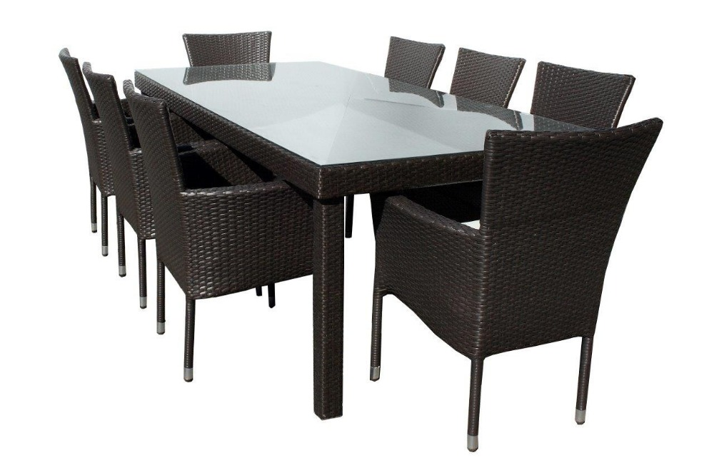 Compra wicker dining table y disfruta del envío gratuito en ...