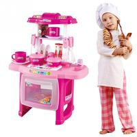 Funny Toy Simulation Kitchen Play Set Cookware Pretend Role Play Toy Set Cooking Food Holiday Girls Kids Toy Gifts