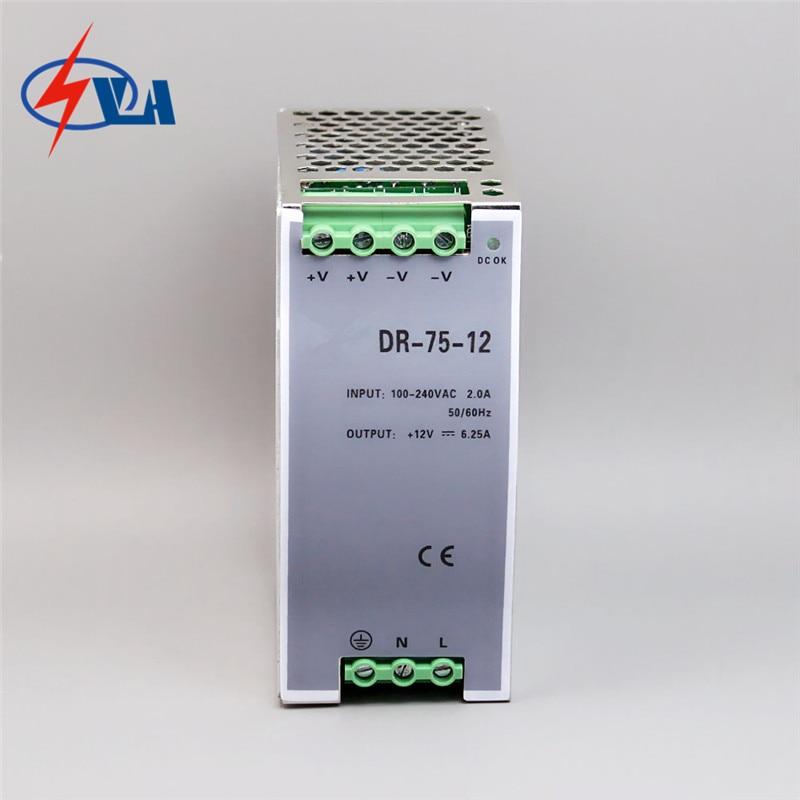 цены на DR-75-24 75W aluminuml 24vdc No-waterproof constant 75watt switching power power supply 24V в интернет-магазинах