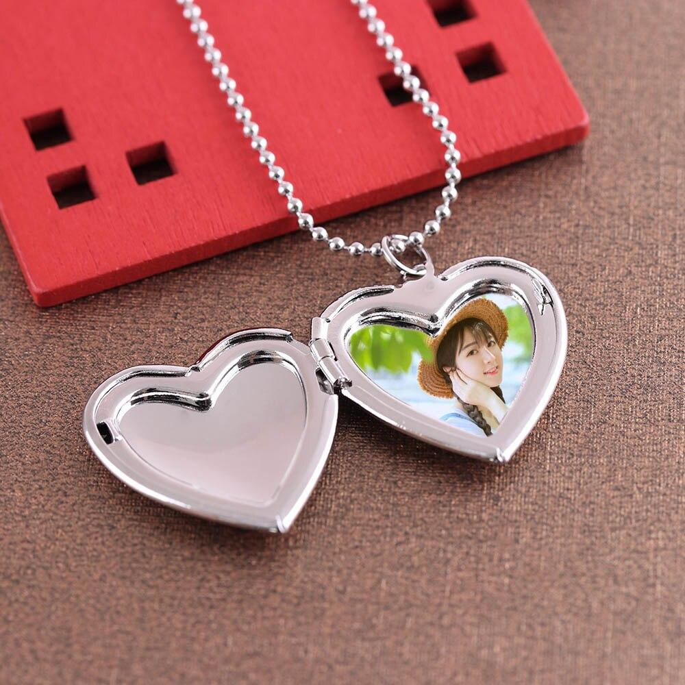 Us 131 10 Off1 Pc Hart Vormige Vriend Foto Fotolijst Medaillon Hanger Voor Ketting Romantische Sieraden Leuk Cadeau In 1 Pc Hart Vormige Vriend