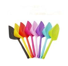 1PC New Kitchen Accessories Gadgets Nylon Strainer Scoop Colander Drain Veggies Water Gadget Cooking Tools OK 0937