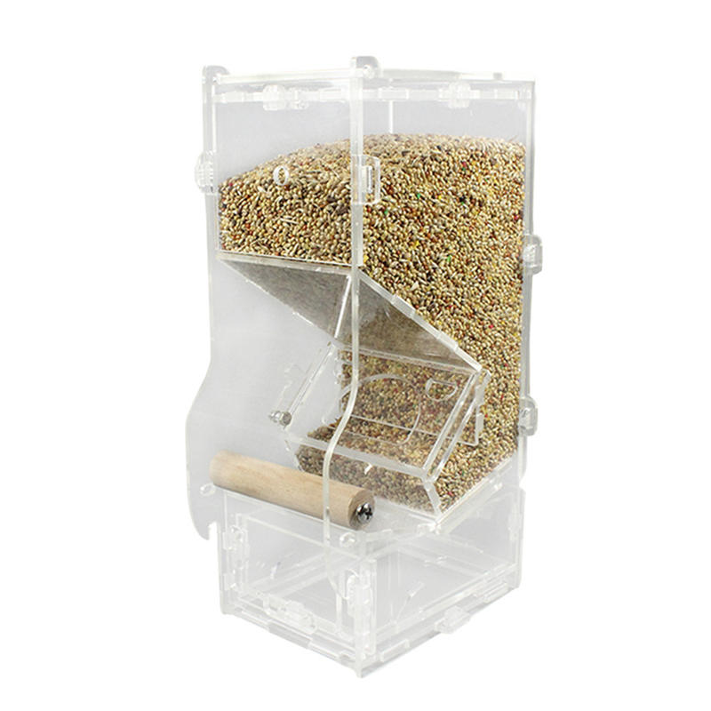 bird acrylic feeder product clear window parts feeders outdoor wall hanging wholesale detail