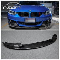 Автомобиль Стиль углерода Волокно Racing передний сплиттер для губ для BMW 4 серии F32 M Спорт бампер 2014up автомобильные аксессуары для укладки