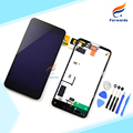 100% New Tested Black for Nokia Lumia 630 635 LCD Display with Touch Digitizer+Frame+Free Tools assembly 1 piece free shipping