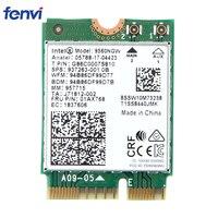 Dual Band 1,73 Гбит/с беспроводной для Intel AC 9560 9560NGW NGFF ключ E Wi Fi карты 9560AC 8020.11ac Bluetooth 5,0 ноутбук оконные рамы 10