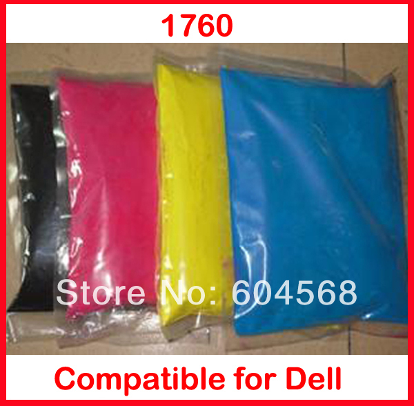 High quality color toner powder compatible Dell 1760 Free Shipping