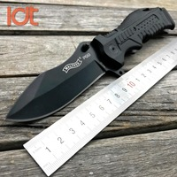 LDT P99 Folding Knife 7Cr13Mov Blade Glass Nylon Plastic Handle Camping Knife Outdoor Survival Tactical Pocket