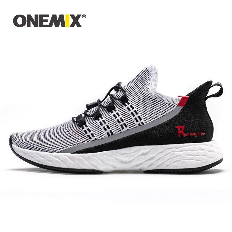 ONEMIX 2020 Vulcanize Tennis Shoes Men Sneakers Summer Trainers  Lightweight Reflective Outdoor Sports Casual Trekking ShoesTennis  Shoes