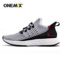 ONEMIX 2020 chaussures de Tennis vulcanisées pour hommes, baskets légères, réfléchissantes, chaussures de Trekking pour Sports dextérieur, été, décontracté