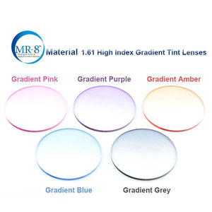 Image 4 - Reven JATE MR 8 ดิจิตอล Freeform Progressive Prescription เลนส์ Aspheric เลนส์ UV400 Solid และ Gradient Tinted