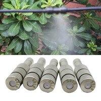 Low Pressure Misting Disinfectant Spray Nozzle 0.2-0.6mm Fogging Spray Sprinkler Garden Cooling Sprayer with Filter 20 Pcs