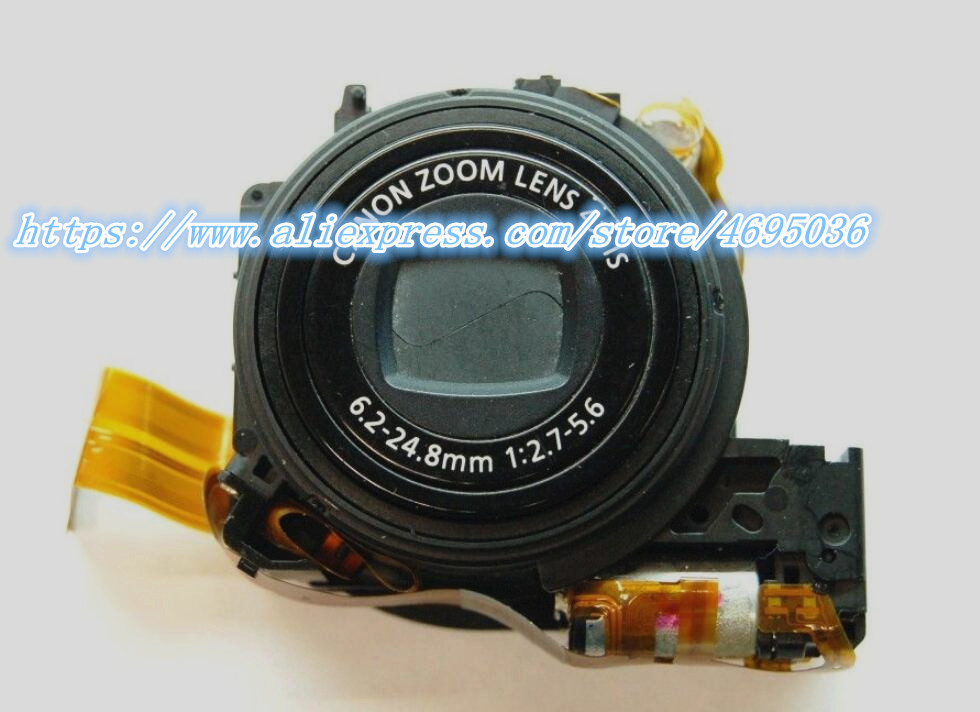 Lens Zoom Unit For Canon FOR PowerShot A3000 IS Digital Camera Repair Part Black + CCD