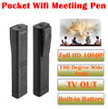 Free shipping!1080P T190 180 Degree Wide Angle Lens Mini Video Recorder Pen Camera