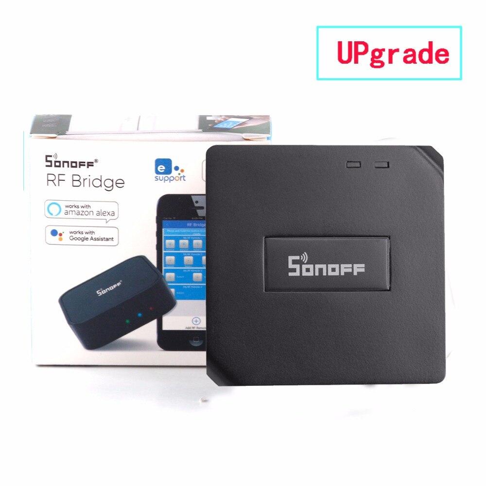 Ersatz Smart Home Automation Sonoff RF Brücke WiFi 433 MHz Universal Schalter Intelligente Domotica Wi-Fi Remote RF Controller