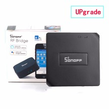 Smart Home Automation Sonoff RF Bridge WiFi 433 MHz Universal Switch Intelligent Domotica Wi-Fi Remote RF Controller