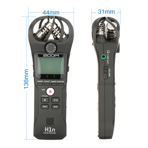 Image 3 - Original Zoom H1N Handy Digital Voice Recorder Portable Audio Stereo Microphone Interview Mic with Kingston16GB SD Card Lable