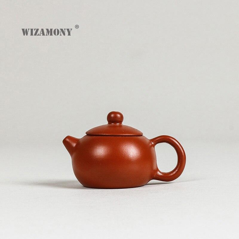 1 stücke 20-30 ml Tee Schönheit Neue Lila Ton mini Zisha Tee Pet - Küche, Essen und Bar - Foto 1