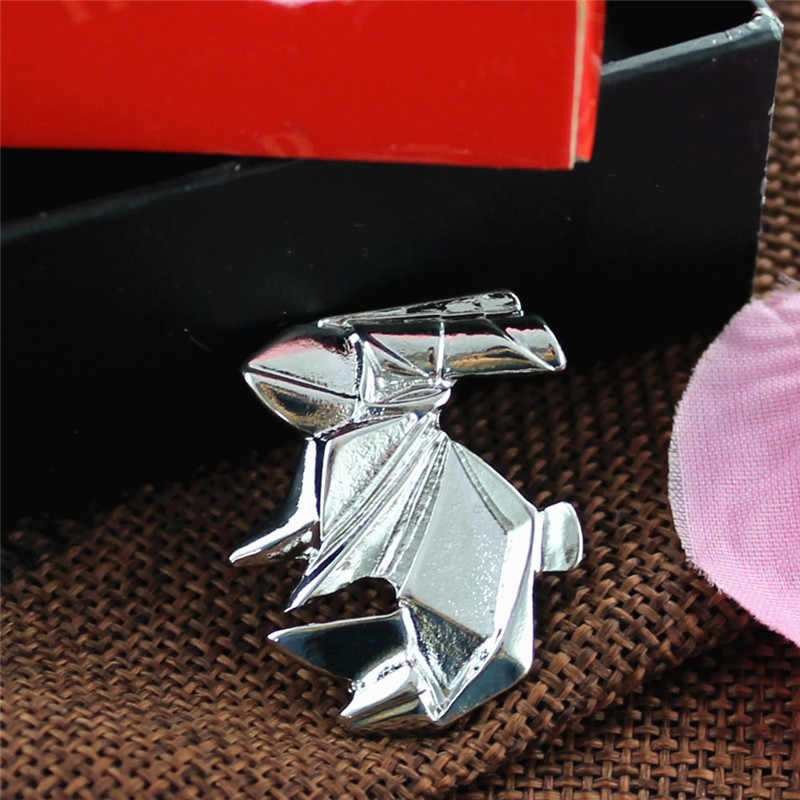 XQ الأبيض الذهب الحصان أرنب رافعة القط الحيوان طوق إبرة أزياء النساء مجوهرات سبائك الزنك شارة بروش السيدات الاكسسوارات