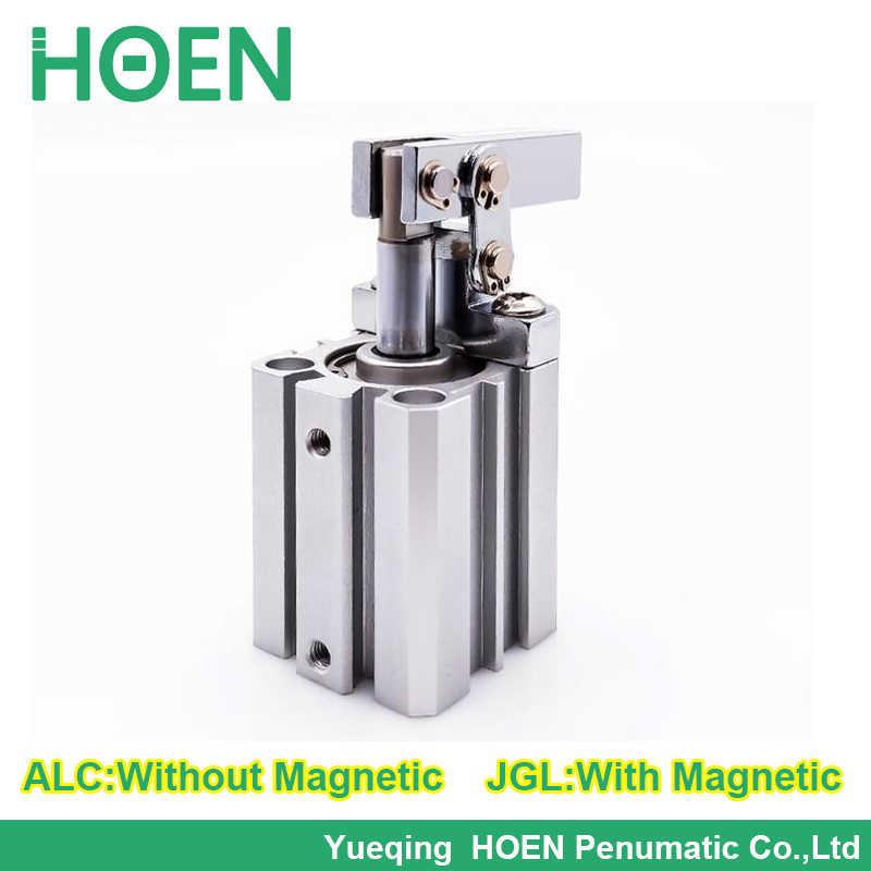 JGL 40 двойного действия зажима роторный цилиндр воздушный компрессор пневматический цилиндр, компоненты ALC-40 ALC 40 JGL-40
