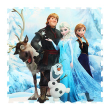 Disney Princess Frozen Girls Soft EVA Puzzles Foam Baby Play Mats for Children Girl Room Carpet Decor 9PCS Split Joint 1cm Thick