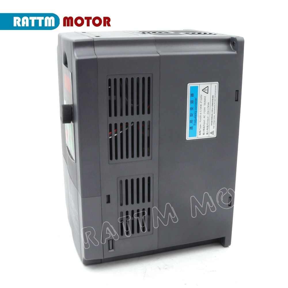Entrega DA UE! 3 7.5KW 220V Frequência Variável VFD Inversor de Saída fase 400Hz Controlador de Velocidade Do Motor Do Eixo de Freqüência Conveter