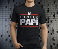 Dimelo Papi Nicky DJ Jam Regueton Music Reggaeton Men S Black T Shirt Size S 3XL