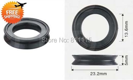 Fuel Injector Rubber Seal 23 2x13 6x5mm 500pcs free shipping O Rings Repair Kits Rubber sealings