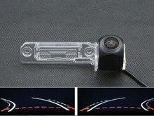 Trajectory Tracks 1080P Fisheye Lens Car Rear view Camera For Volkswagen Magotan Polo New Bora Golf Passat CC Touran Sagitar цена и фото