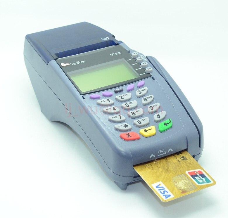 Utilisé VeriFone Vx510 10 BaseT/RS232/Dial-Up 4MF/2 M 14.4 K 10BT SC 3SM POS Terminal
