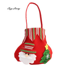 Buy christmas gifts and get free shipping on aliexpress christmas gift bag candy bag merry christmas candy bags christmas decor xmas santa claus hand bag negle Choice Image