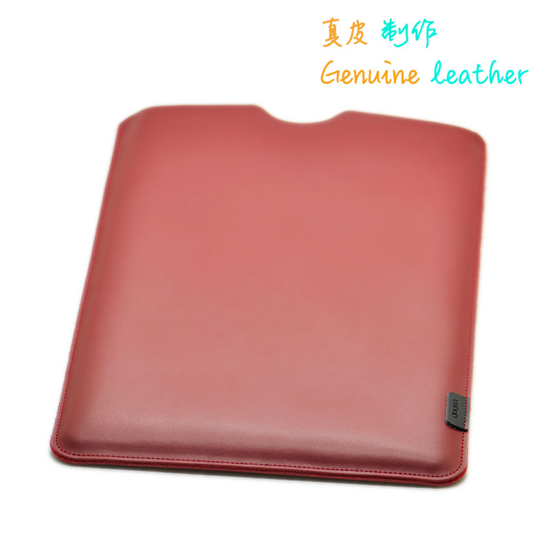 Arrival selling ultra-thin super slim sleeve pouch cover,Genuine leather laptop sleeve case for MacBook Air/Pro 11/12/13/15