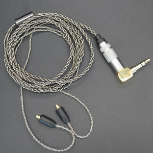 Image 3 - שדרוג DIY MMCX אוזניות סטריאו בס HIFI אוזניות אוזניות Ouyad תקע כסף ציפוי קו עבור Shure SE215 SE425 SE535 SE846
