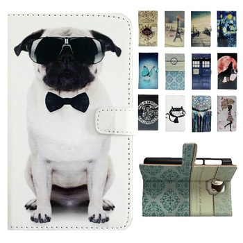 Cartoon Leather Book Cover for LG K5 X220 X220DS Q6 Case Wallet Flip Phone Case for Coque LG Q6 With Magnetic Closure Pocket nokia 8 new 2018
