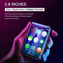 Newest 16GB  MP4 Bluetooth Player Full Screen Touch Super Thin HiFi Walkman Learning English Video Music DVD