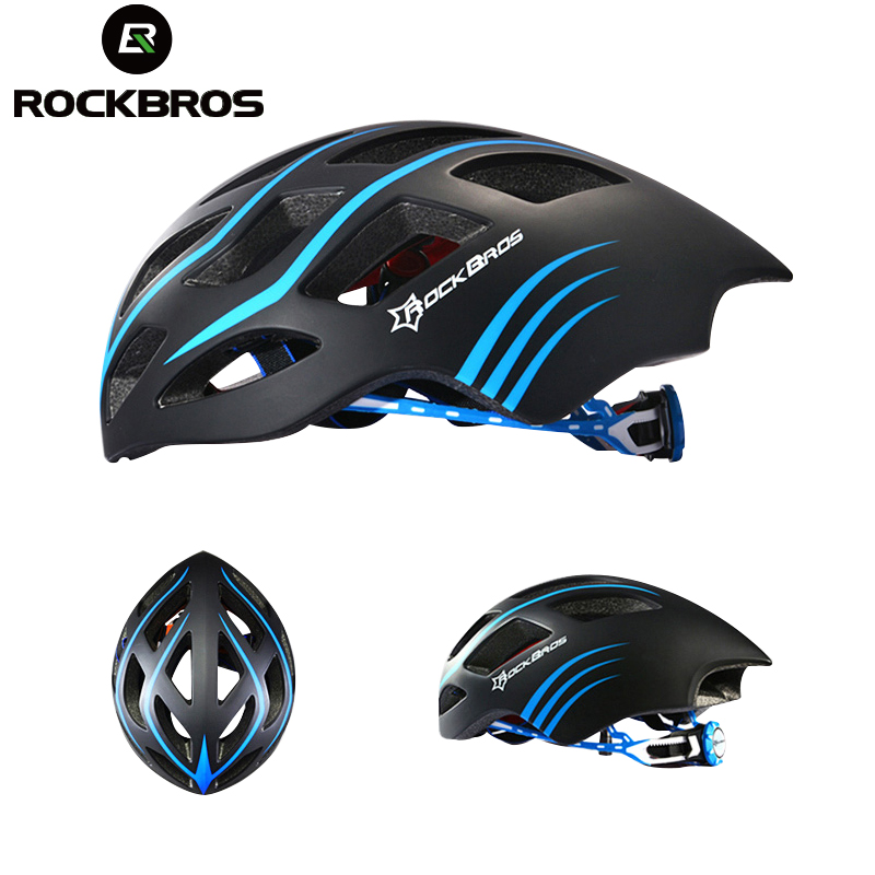 ROCKBROS Ultralight Bicycle Bike Helmet Cycling Helmet Integrally-molded Road Bike Equipment Capacete Casco Ciclismo 57-62 CM bicycle helmet 57 62 cm safety hat for mountain road bike cycling accessories